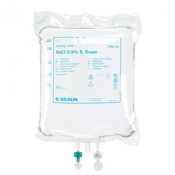 Sorbitol/Mannitol - Spüllösung Ecobag® Click 3% 5 Liter