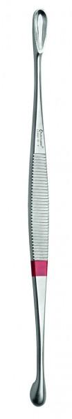 Einmalinstrument Scharfer Löffel Kombination - beidseitig 175 mm