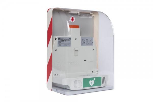 SaveBox (Wandkasten AED mech.) für HeartSave (nicht für ONE).