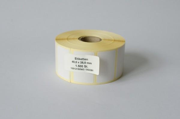 Thermoetiketten auf Rolle (für Order Entry)