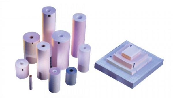 EKG-Papier Fukuda Denshi - Fukuda Typ: OP 353 TE, FCP 231, OP 69 TE - FX 7402 210 mm x 30 m.