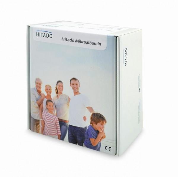 Hitado NobiStrip Mikroalbumin Inhalt 1 x 25 Streifen