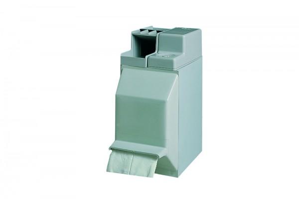 Tupferspender/-befeuchter KOMBI-Set für Blutentnahme und Injektion B x T x H: 120 x 230 x 265 mm grauweiß (Kunststoff)