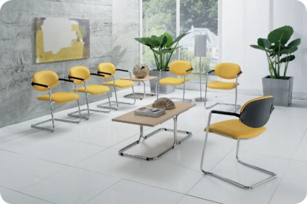 Wartezimmerstuhl - Möbelstoff Flexa