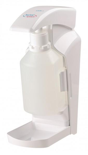 Präparatespender Vario 1.000 ml hyclick®-System weiß.