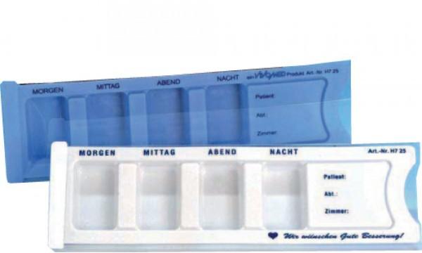 Medikamenten Dispenser für einen Tag