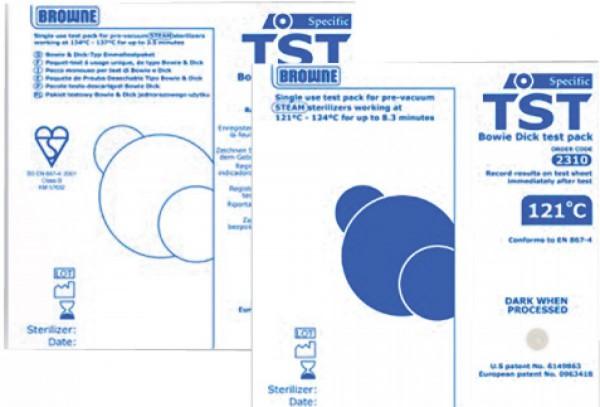 Chargenkontrolle TST Einmal-Testpaket