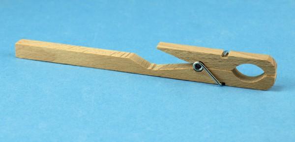 Reagenzglashalter aus Holz mit Feder
