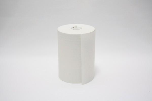 Handtuchrollen Fripa System 1-lagig - nicht perforiert - Recycling ca. 20,3 cm x ca. 137 m, hochweiß.