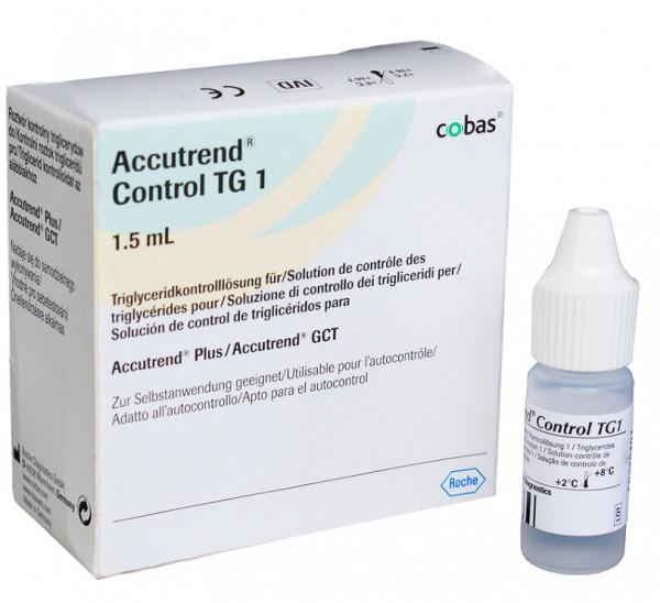 Accutrend Triglyceride Kontrolllösung