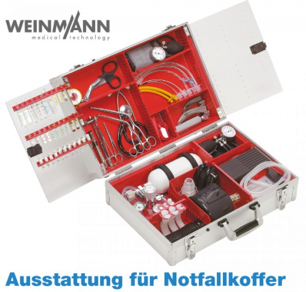 Notfall-System ULMER KOFFER I - Komplettausstattung Standard