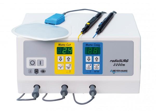 Radiochirurgiegerät radioSURG 2200 m (Monogerät) mit Zubehörsatz Nr. 2