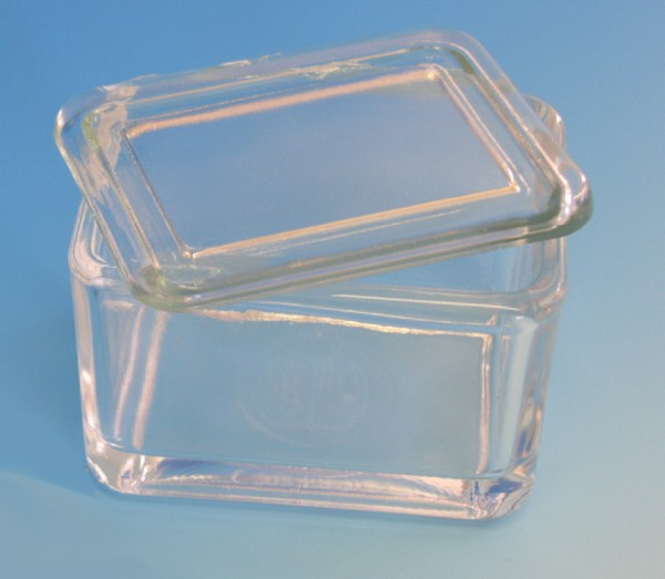 Glasfalzdeckel allein für Assistent Färbetrog. ( Abbildung mit Färbetrog! )