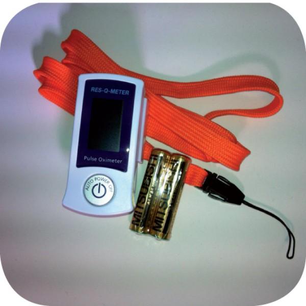 Res-Q-Meter Finger-Pulsoximeter Typ II