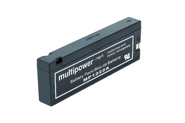 PB-Akku Multipower MP1222A wie Panasonic LC-SA122R3AU 12 V / 2 AH