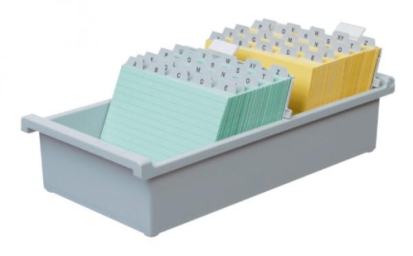 Tischkarteikasten DIN A5 quer für 1300 Karteikarten