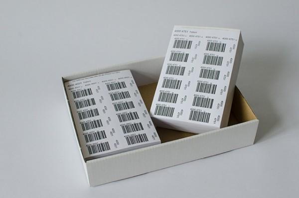 Barcode Etiketten IFLB / VBL