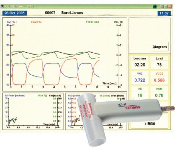 PC-Spirometrie SP-250 USB
