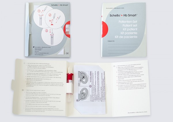 ScheBo Hb Smart Patienten-Set (immunologischer Stuhltest)