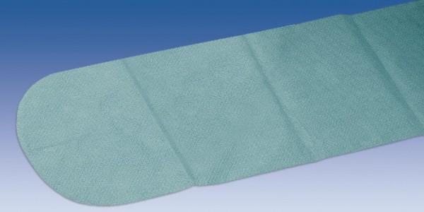 Armlehnen-Bezüge Foliodrape® steril, zu 2 Stück verpackt 25 x 80 cm grün.
