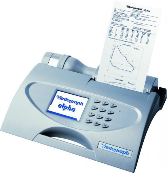 Spirometer mit Thermodrucker Vitalograph ALPHA IV