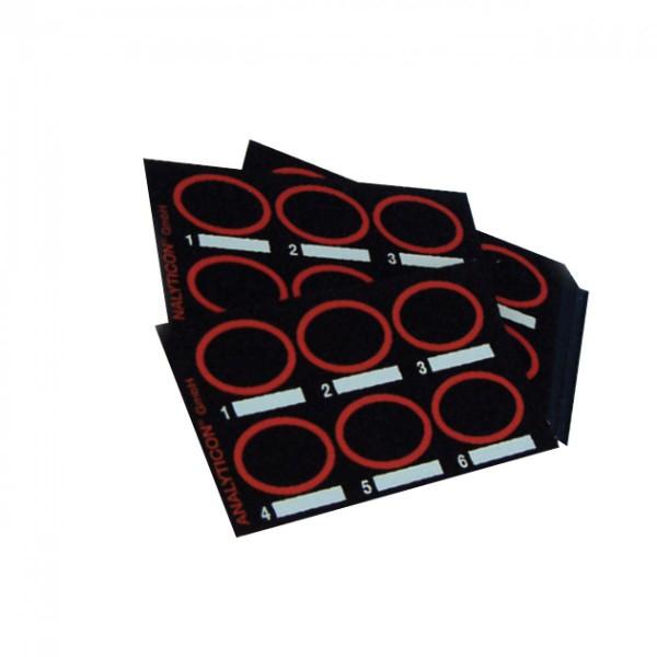 Testplatten für Latex-Schnellteste