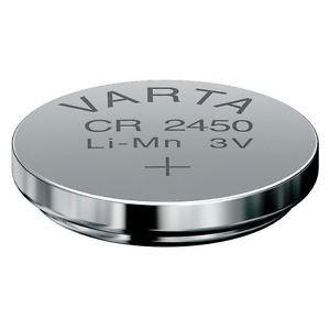 Knopfzelle - Lithium Batterie 3 V - 550 mAh - CR 2450 N.