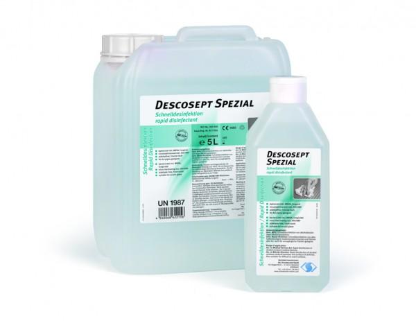 Schnelldesinfektion Descosept Spezial alkoholfrei 5 Liter