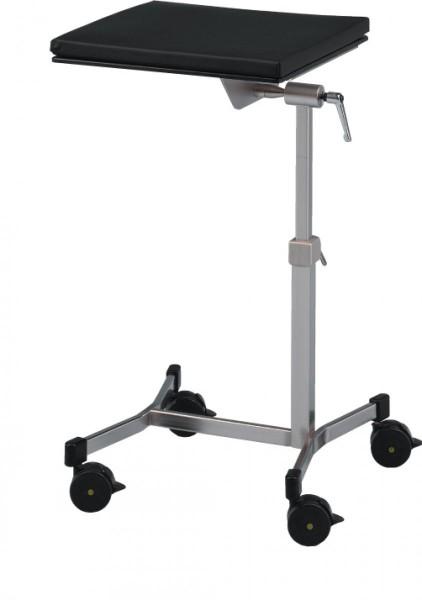 Hand- und Armlagerungstisch varimed® L x B x H: 450 x 450 x 650 - 950 mm.