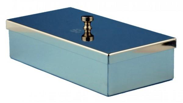 Instrumentebehälter mit Knopfdeckel