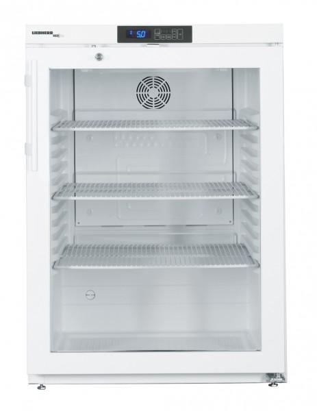 Laborkühlschrank LKUv 1613-22 unterbaufähig, Glastür, LED B x T x H: 600 x 615 x 820 mm.
