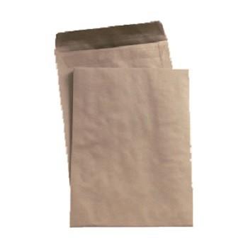 Versandtaschen ohne Fenster nassklebend DIN C5 - 162 x 229 mm - 90 g, braun.