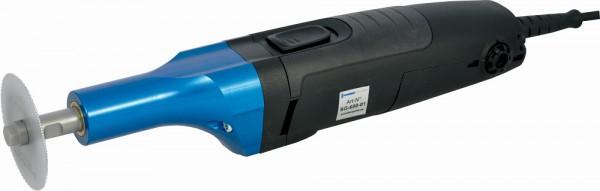 Gipssäge elektrisch mit 2 Blätter 50 mm + 65 mm inkl. Spannschlüssel.