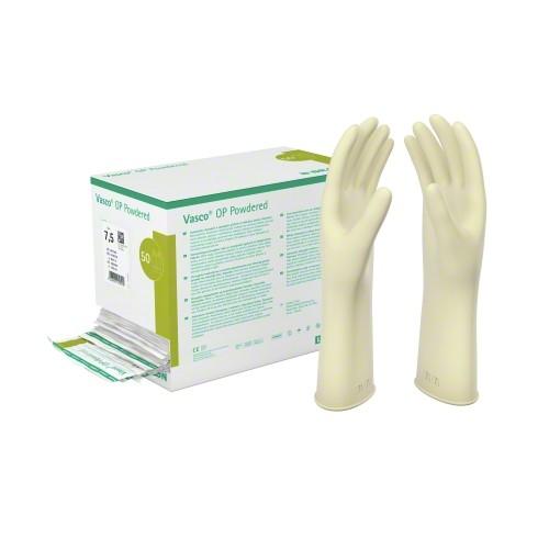 Einmal-OP-Handschuhe Vasco® OP Powdered Naturlatex - leicht gepudert - steril Gr. 7