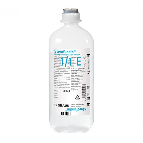 Vollelektrolytlösung Sterofundin® Ecoflac plus 500 ml