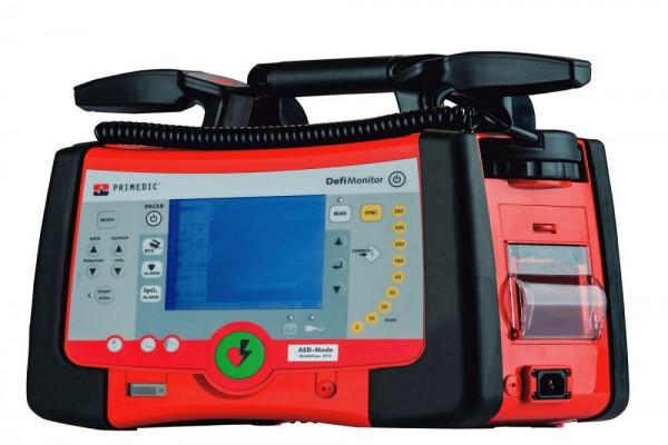 Primedic™ DefiMonitor XD1 Defibrillator (Biphasisch) integriertes Netz-/Ladegerät.