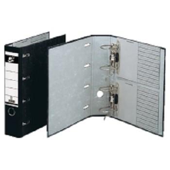 Ordner Doppelordner A4 für 2 x DIN A5 - quer DIN A4 - 80 mm, schwarz.