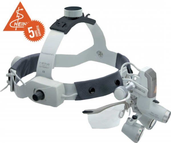 3S LED HeadLight® mit HRP Binokularlupe