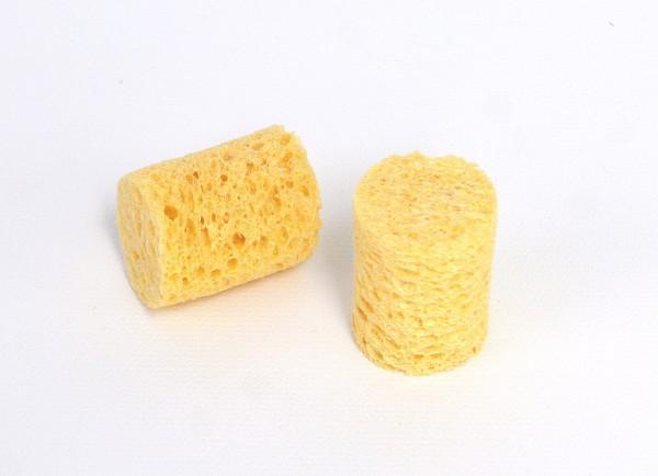 Viskoseschwamm für Bügelelektrode Ø 2 cm.
