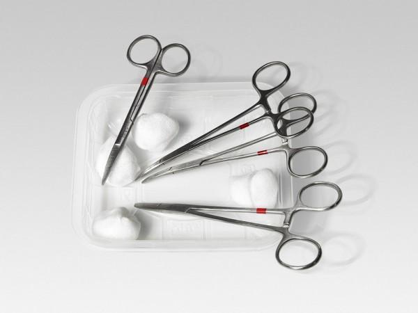 Beschneidungs-Set zur Phimose-Behandlung durch Zirkumzision (Abb. Ähnlich)