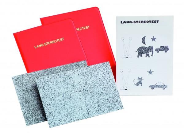 Stereo-Sehtest Lang-Test II 4 Objekte (ein monokular erkennbares)