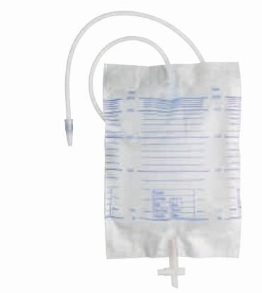 Sekret-/Urinbeutel Urimed® B´Bag mit Ablauf - unsteril 2000 ml.