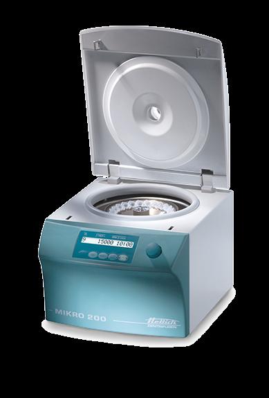 Zentrifuge Mikro 200 ohne Rotor
