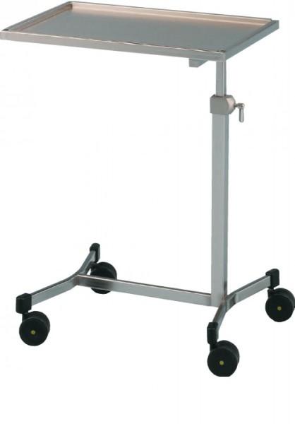 Instrumentenzureichungstisch varimed® H x B x T: 800-1200 x 620 x 420 mm.