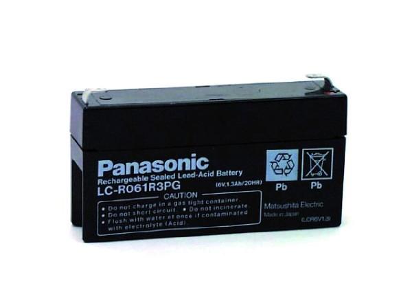 PB-Akku (INKL.MTZ) Panasonic LC-R061R3P 6 V / 1,3 AH