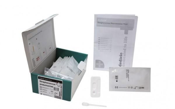 Streptococcus pnbeumoniae dedicio® Kassettentest