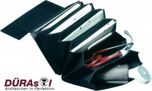 Karteikarten-Tasche aus Kalbleder