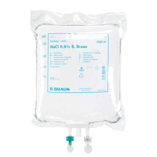 Sorbitol/Mannitol - Spüllösung Ecobag® Click 3% 3 Liter