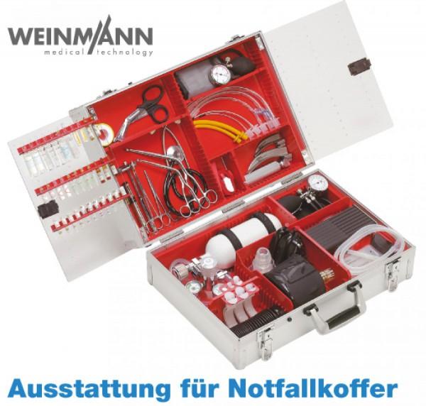 Notfall-System ULMER KOFFER II - Komplettausstattung Atmung