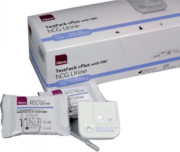 Schwangerschaftstest hCG Urine TestPack+ with QBC